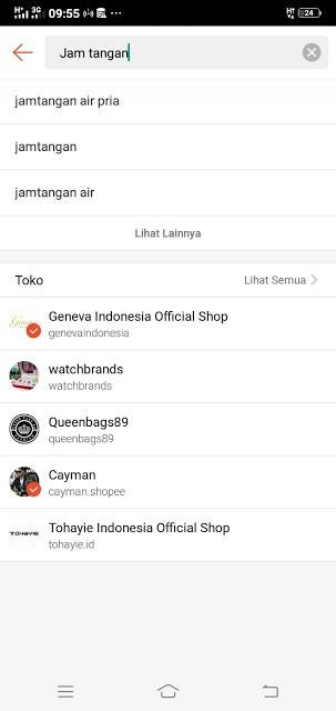 Gambar 2 : Cara Belanja Online Bayar di Tempat di Shopee
