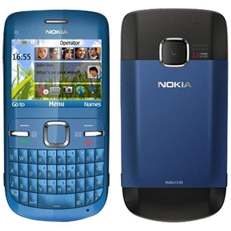 Harga Nokia C3-00 RAM 64MB ROM 55MB