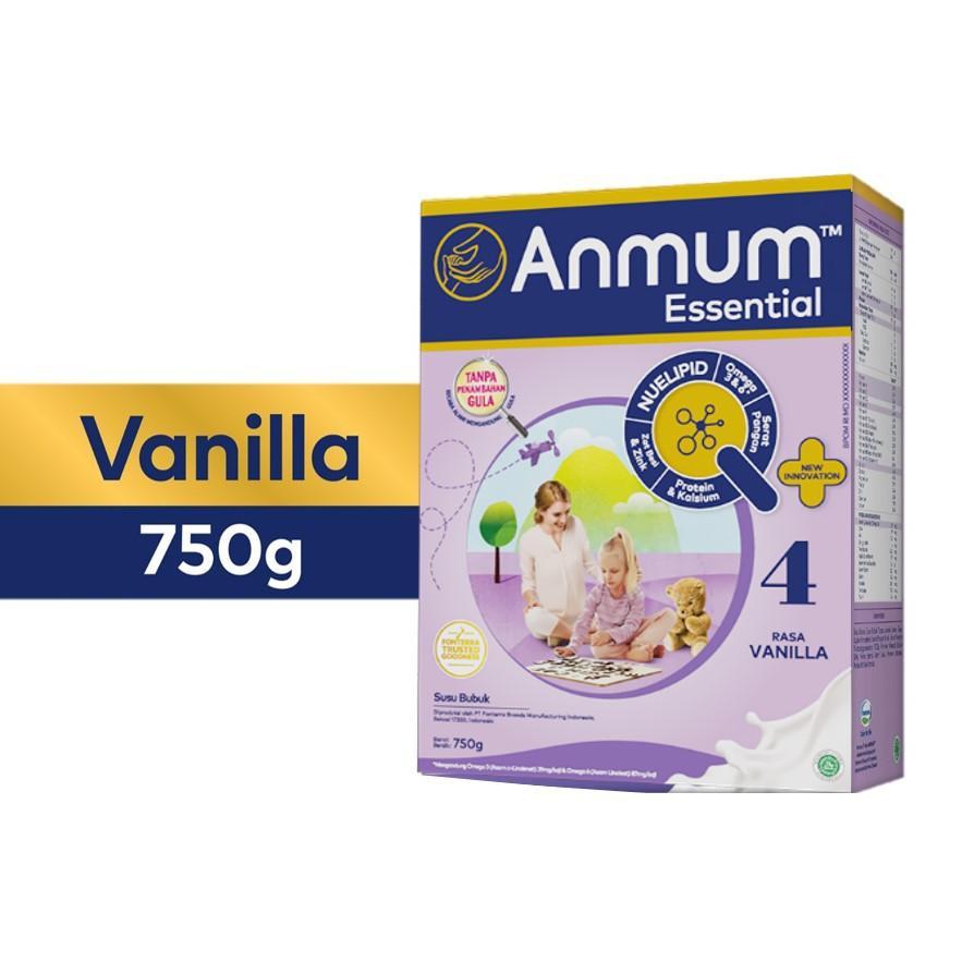 Harga-Anmum Essential 4 Vanila 750 gr