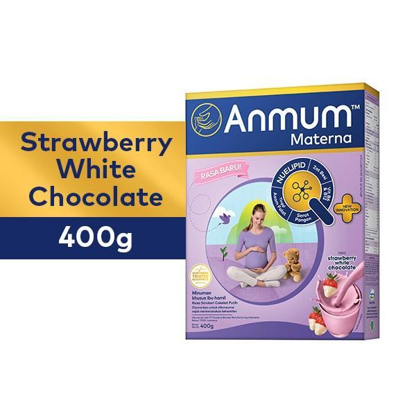 Harga-Anmum Materna Strawberry White Choco 400 gr