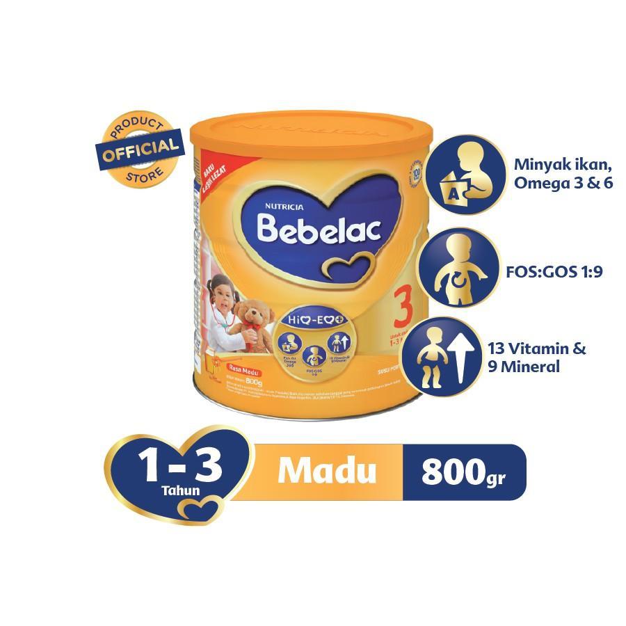 Harga-Bebelac 3 Madu 800 gr