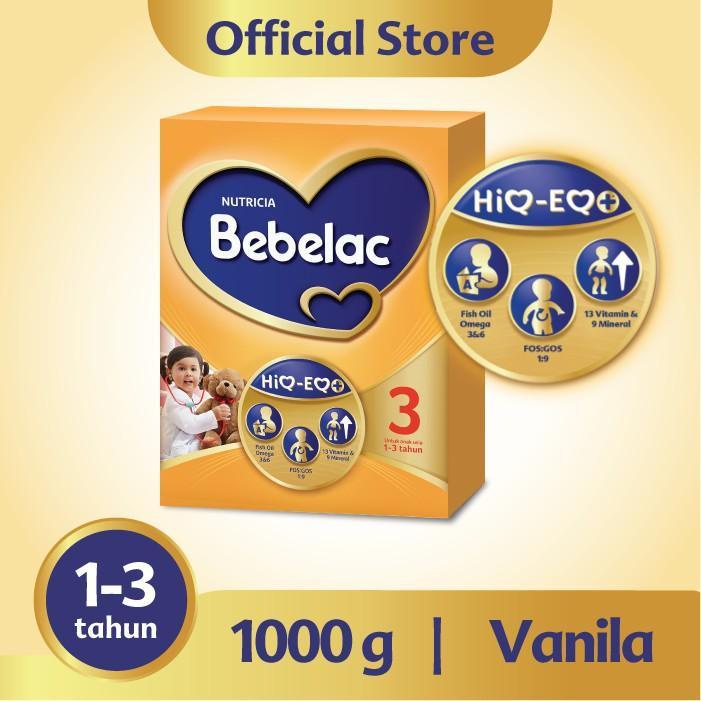 Harga-Bebelac 3 Vanila 1000 gr