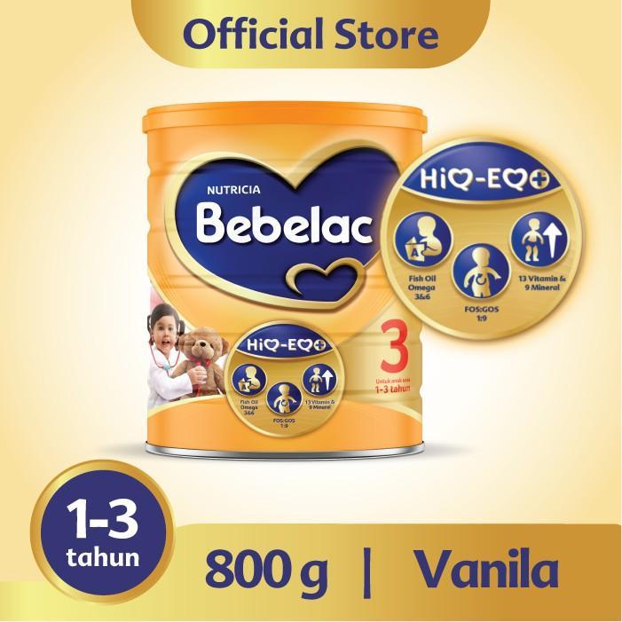 Harga-Bebelac 3 Vanila 800 gr