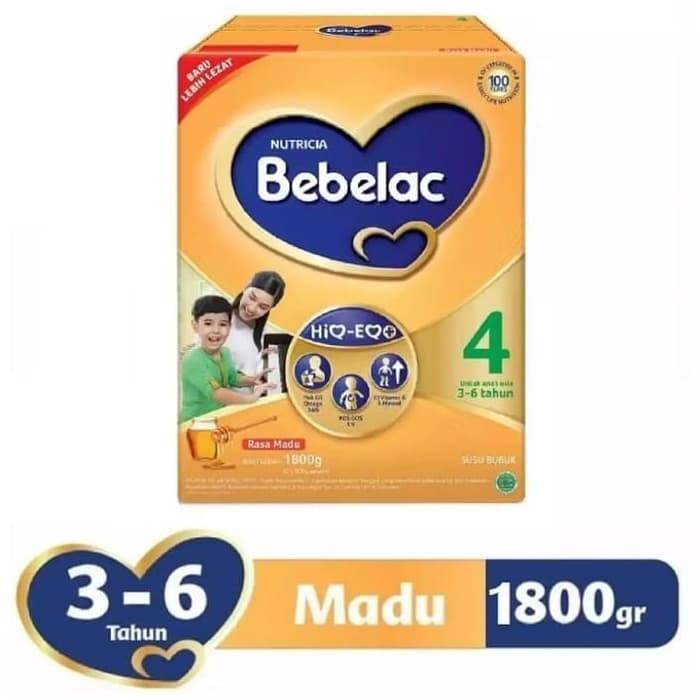 Harga-Bebelac 4 Madu Susu Bubuk 1800 gr