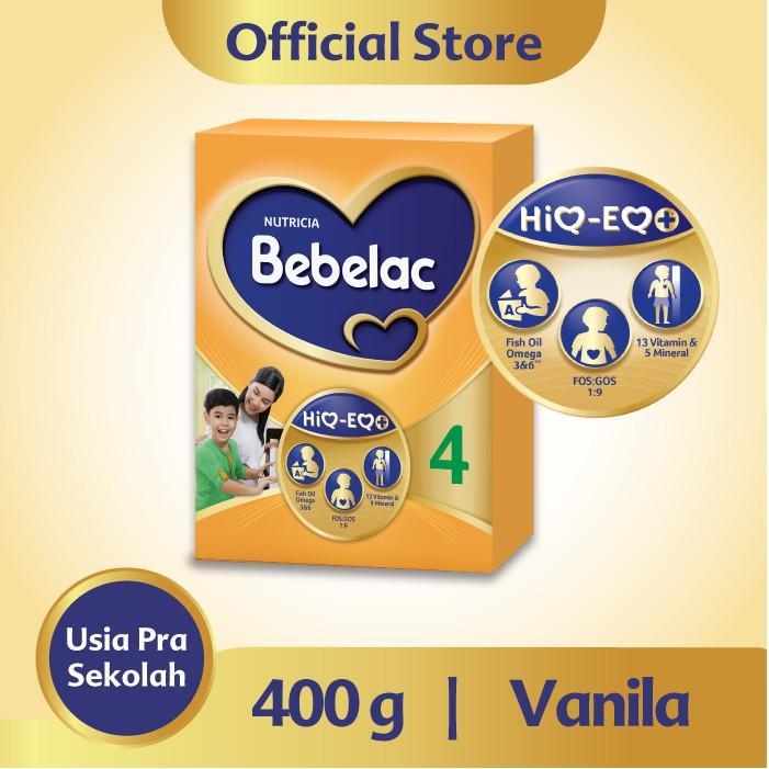 Harga-Bebelac 4 Vanila Susu Bubuk 400 gr