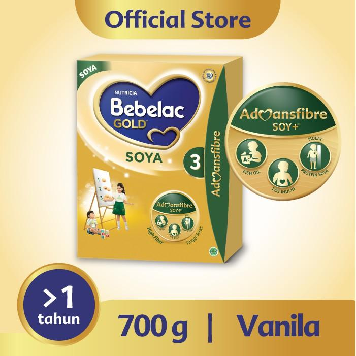 Harga-Bebelac Gold Soya 3 Vanila 700 gr