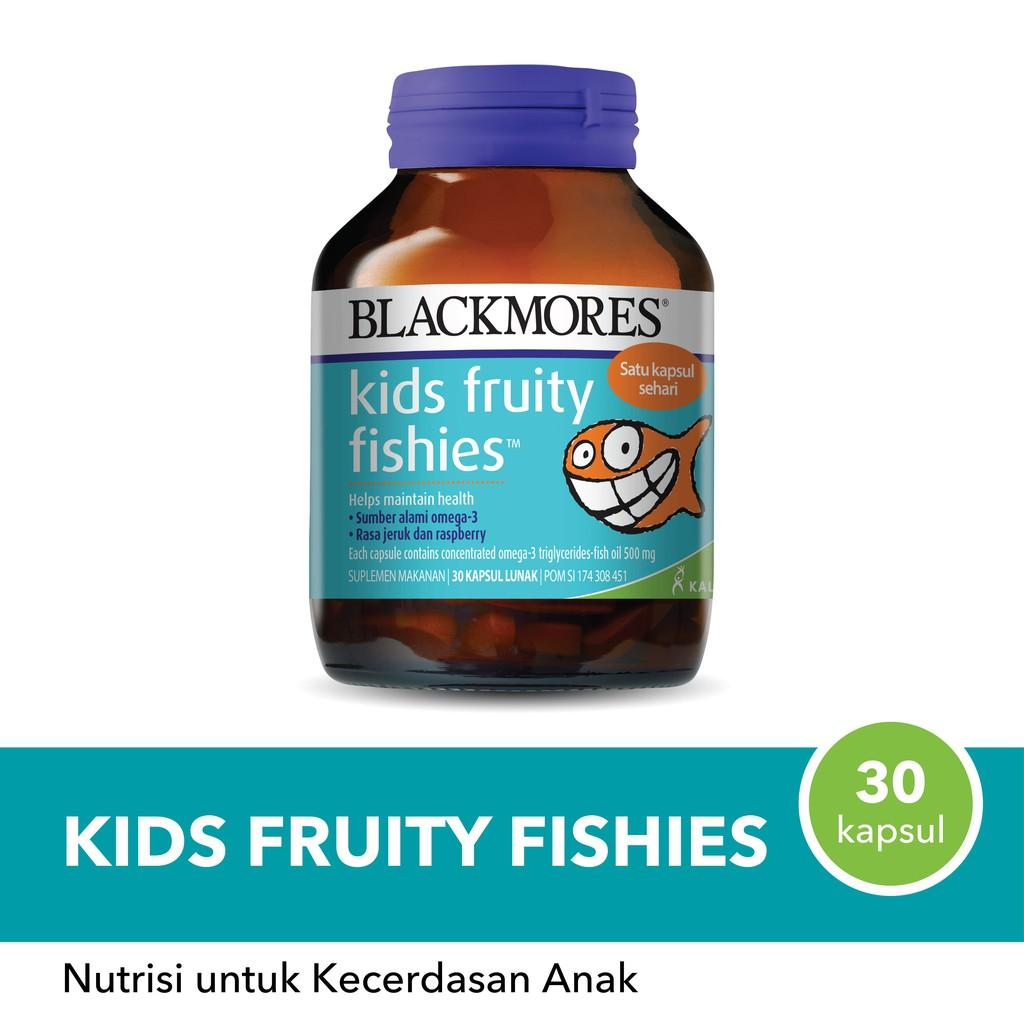 Harga-Blackmores Kid Fruity Fishies 30 Tablet