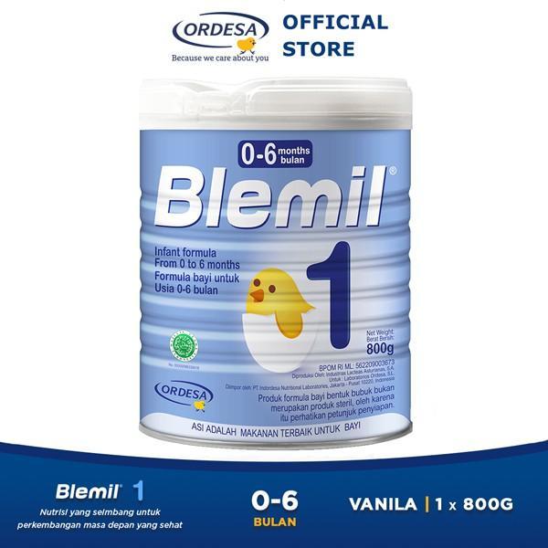 Harga-Blemil 1 Susu Anak (0-6 Bulan) - 800 gr