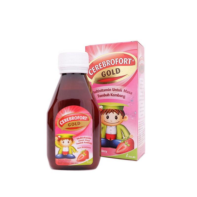 Harga-Cerebrofort Gold Strawberry 100 ml