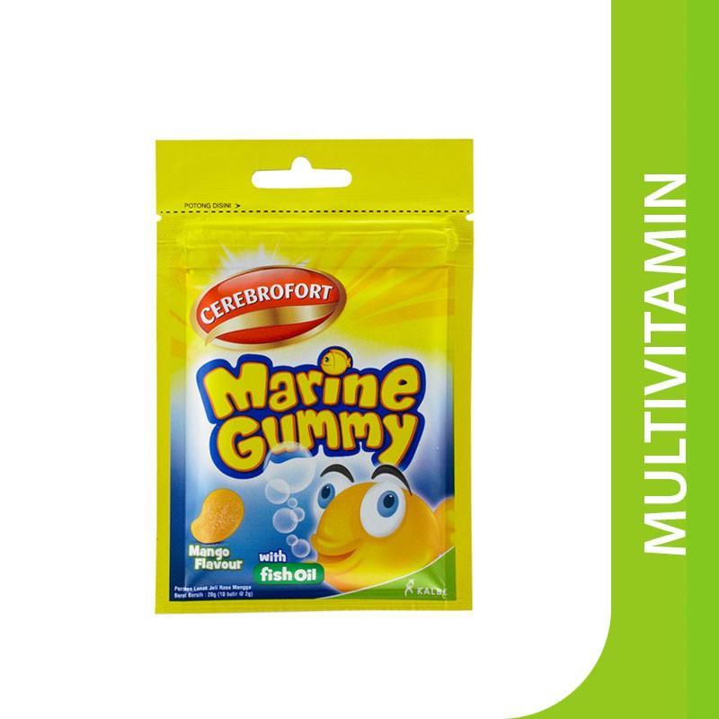 Harga-Cerebrofort Marine Gummy Mango Flavor