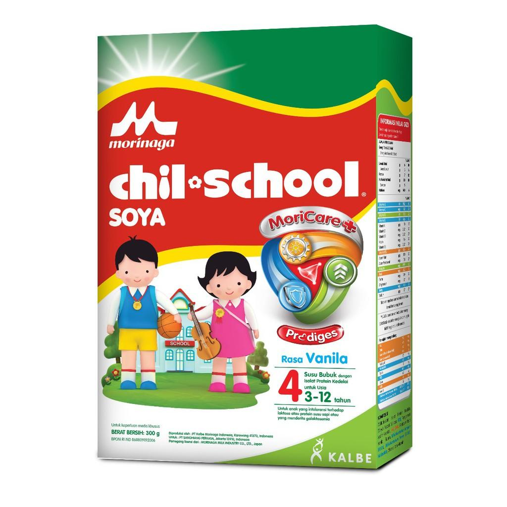Harga-Chil School 4 Soya 300 gr