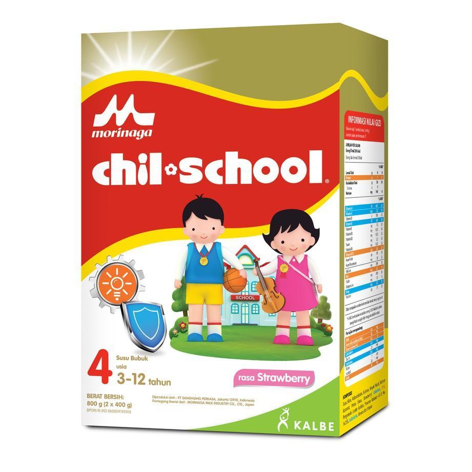 Harga-Chil School 4 Strawberry 800 gr