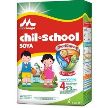 Harga-Chil School Soya Moricare+ Prodiges Vanila 300 gr