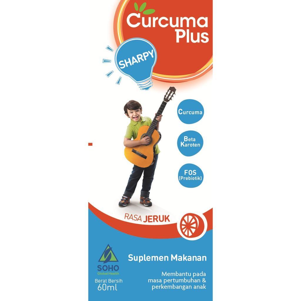 Harga-Curcuma Plus Sharpy Jeruk 60 ml