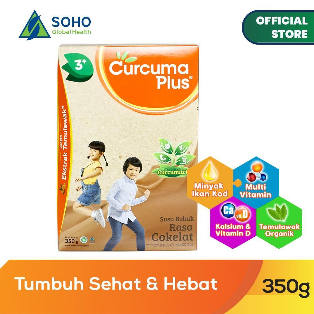 Harga-Curcuma Plus Susu Bubuk Ekstrak Temulawak - Coklat 350 gr