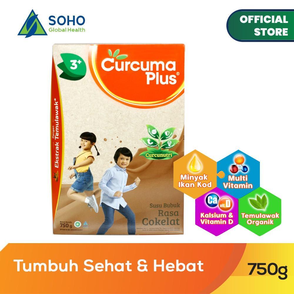 Harga-Curcuma Plus Susu Bubuk Ekstrak Temulawak - Coklat 750 gr