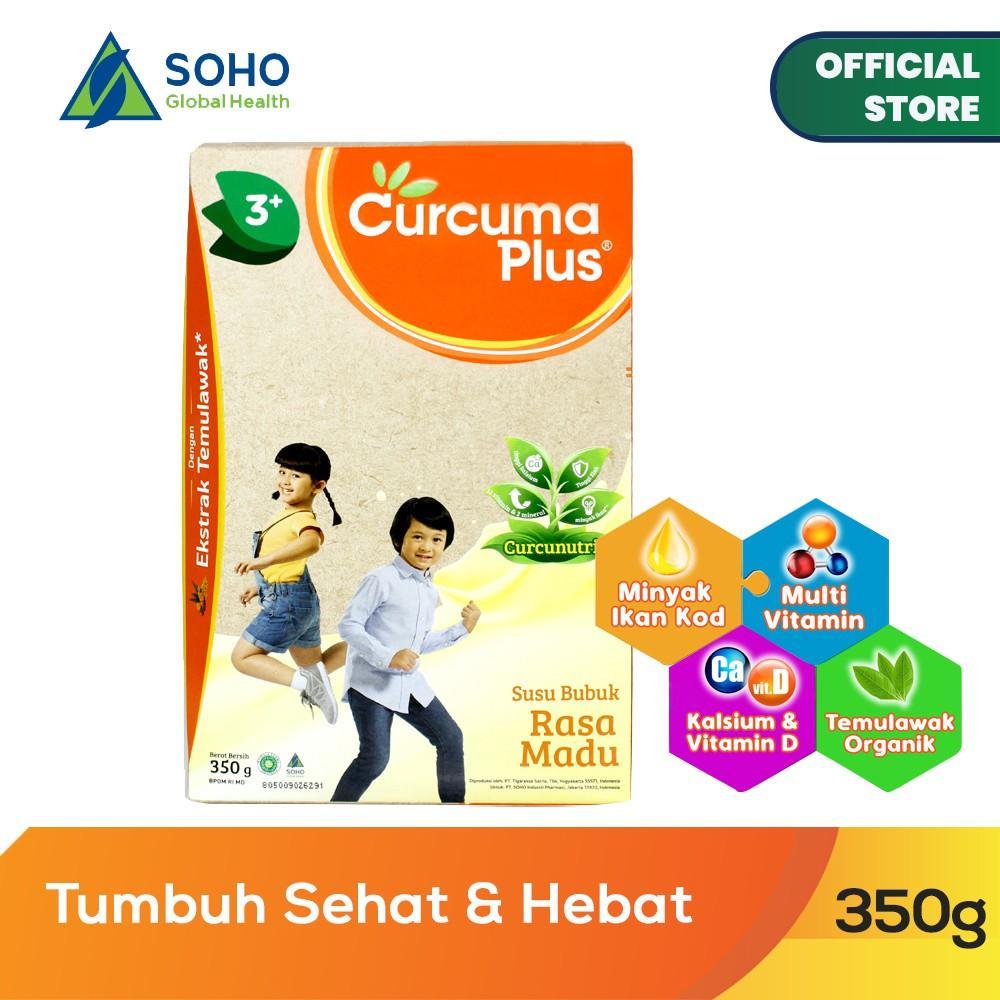 Harga-Curcuma Plus Susu Bubuk Ekstrak Temulawak - Madu 350 gr