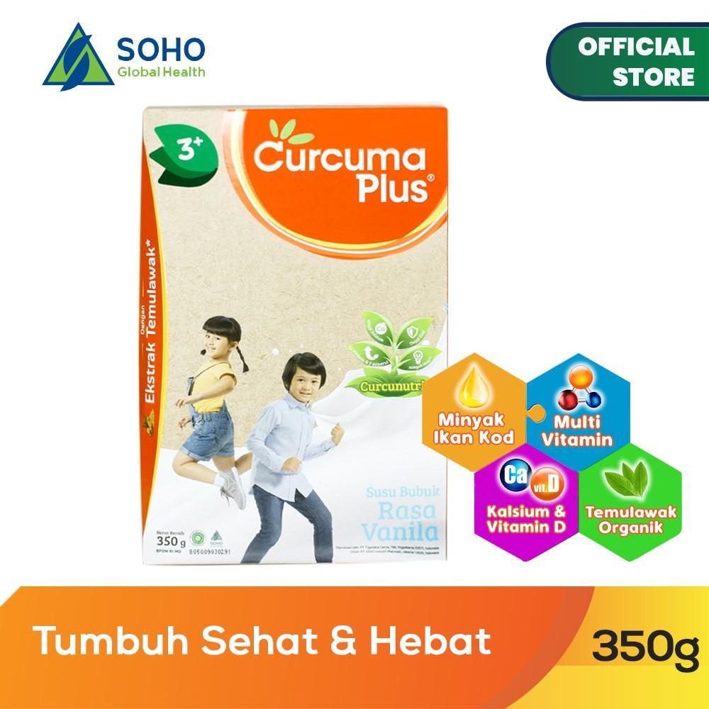 Harga-Curcuma Plus Susu Bubuk Ekstrak Temulawak - Vanila 350 gr