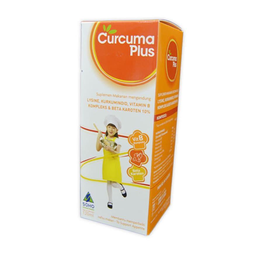 Harga-Curcuma Plus Syrup 120 ml