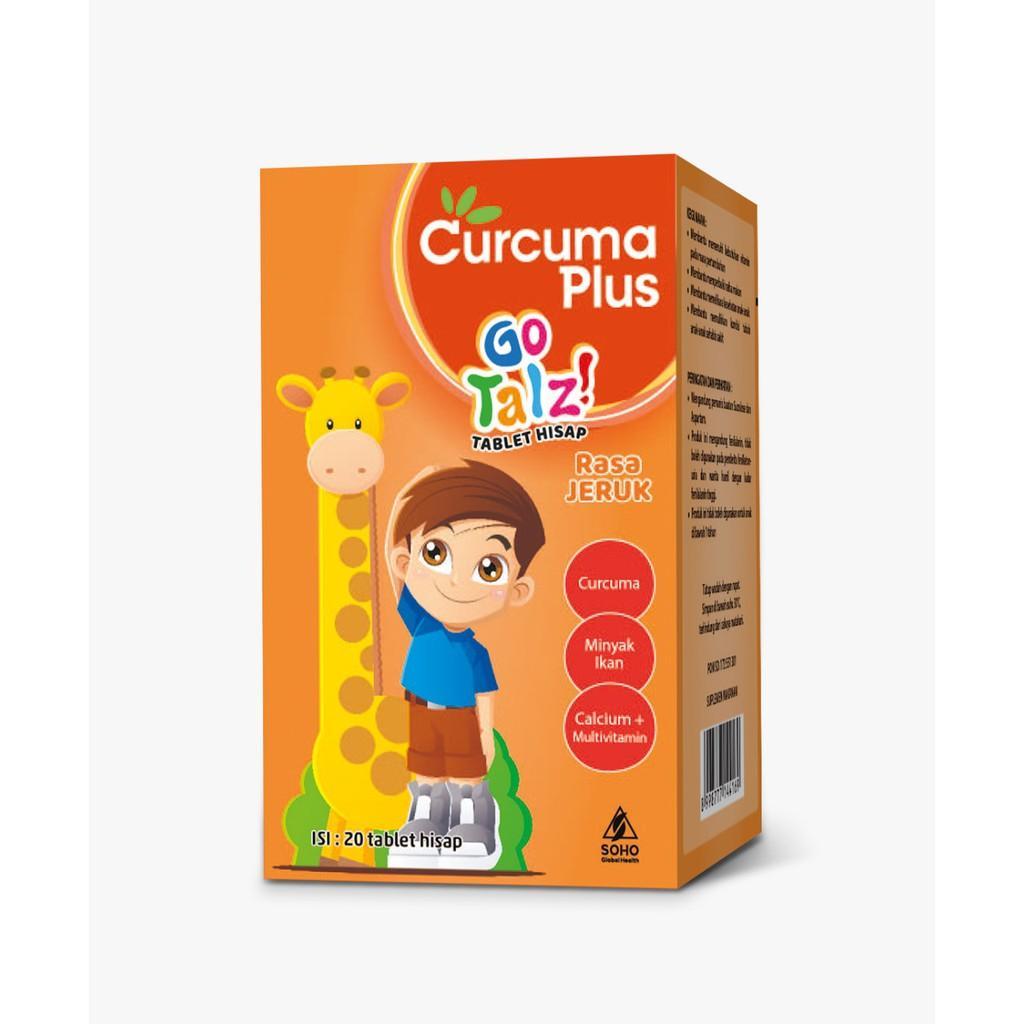 Harga-Curcuma Plus Tablet Go Talz! Rasa Jeruk