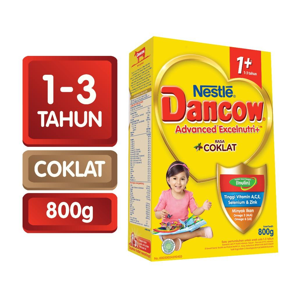 Harga-Dancow 1+ Cokelat 800 gr