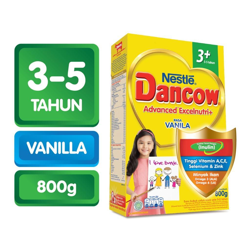 Harga-Dancow 3+ Vanila 800 gr