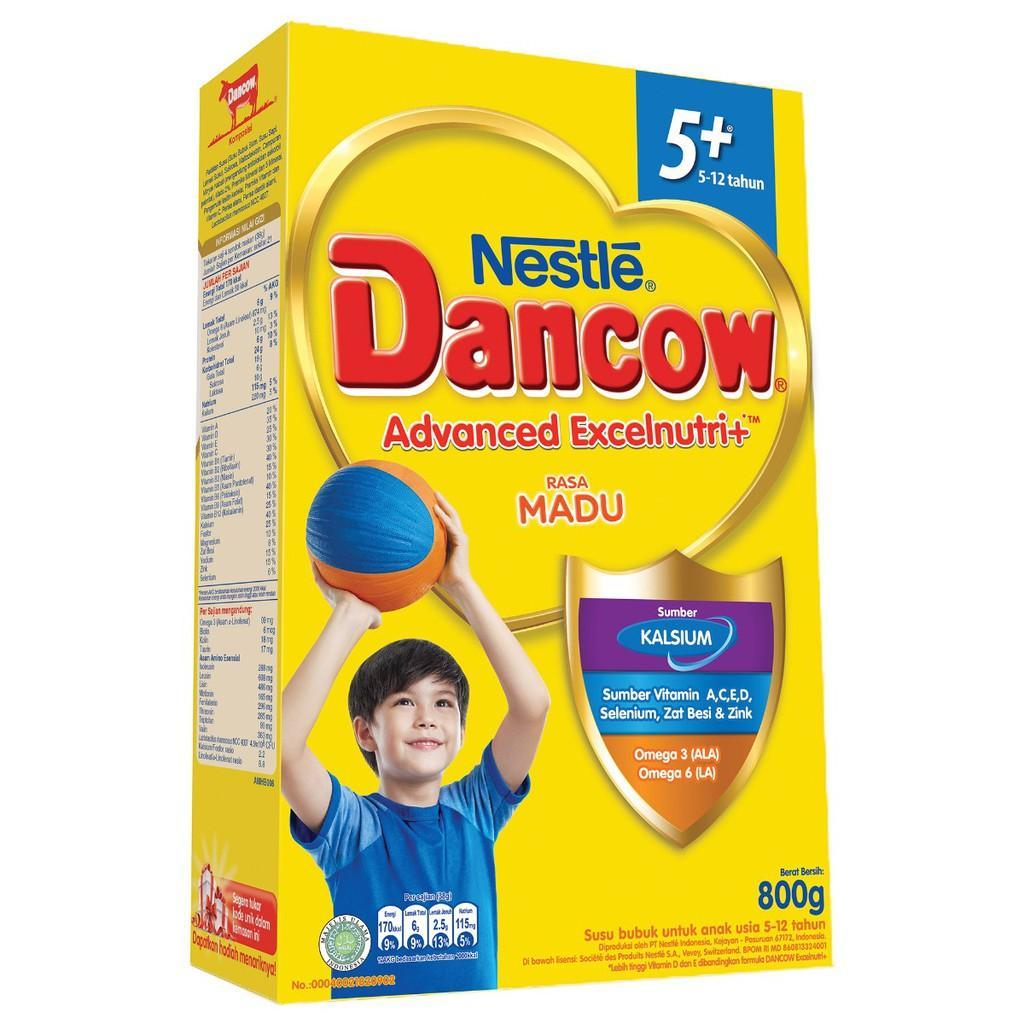 Harga-Dancow 5+ Madu 800 gr