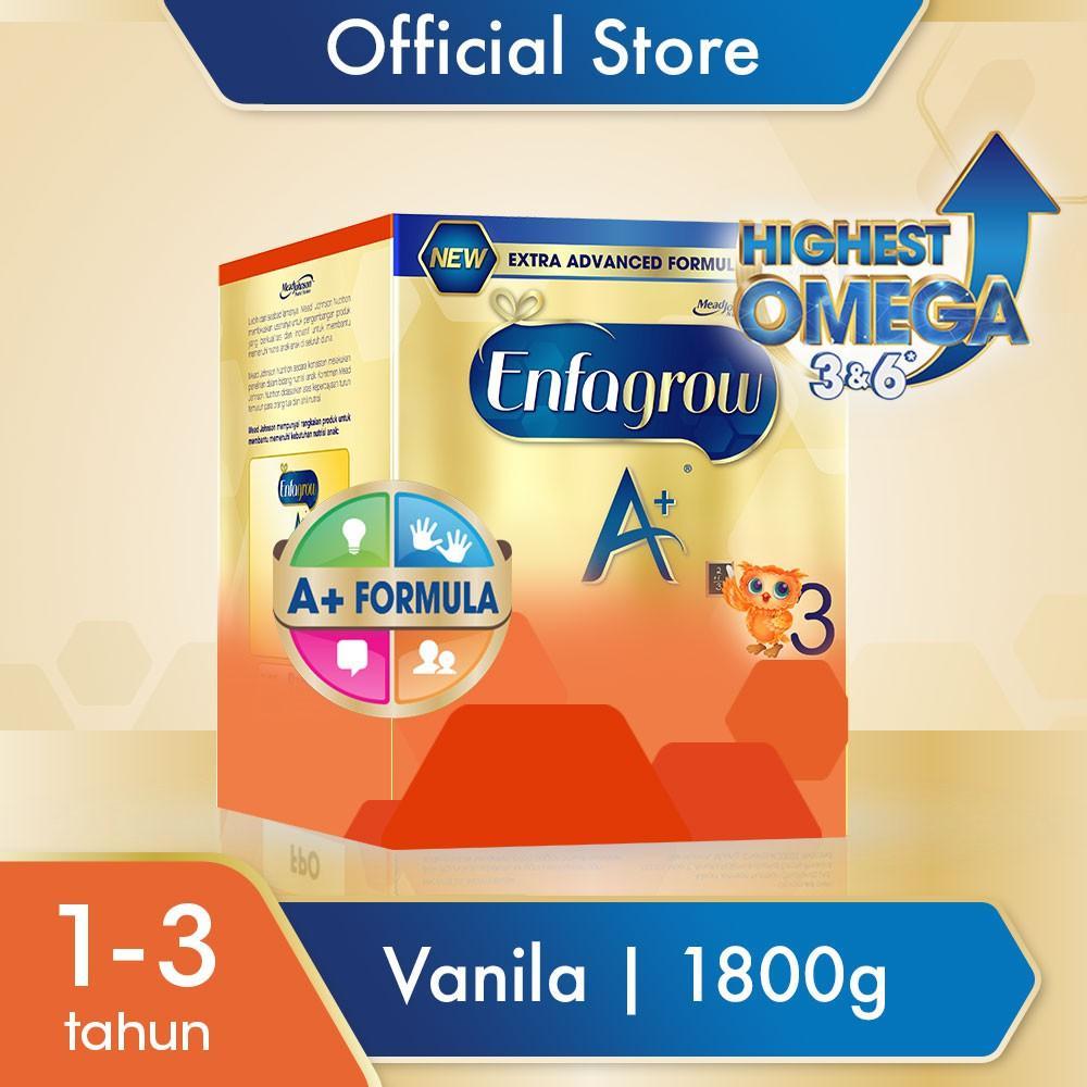 Harga-Enfagrow A+ 3 Vanila 1800 gr