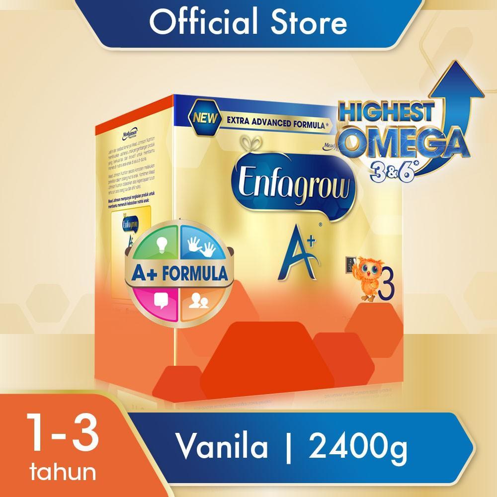 Harga-Enfagrow A+ 3 Vanila 2400 gr
