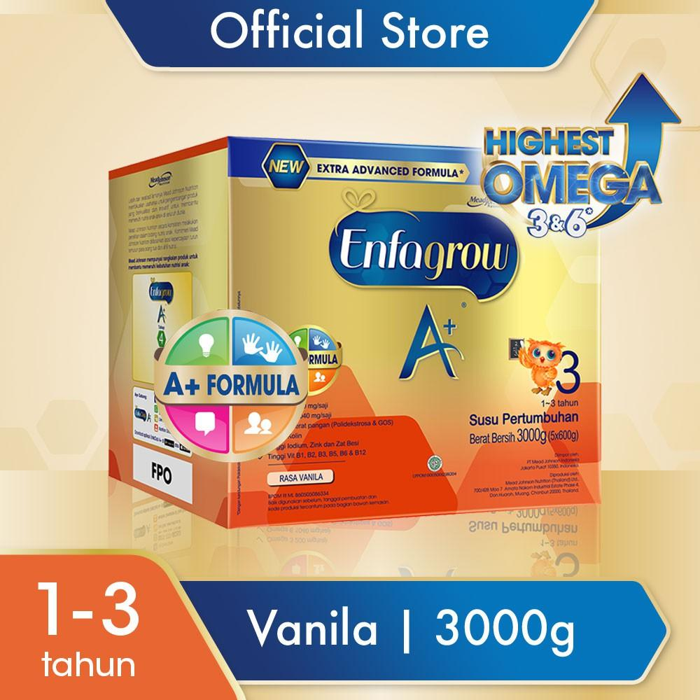 Harga-Enfagrow A+ 3 Vanila 3000 gr