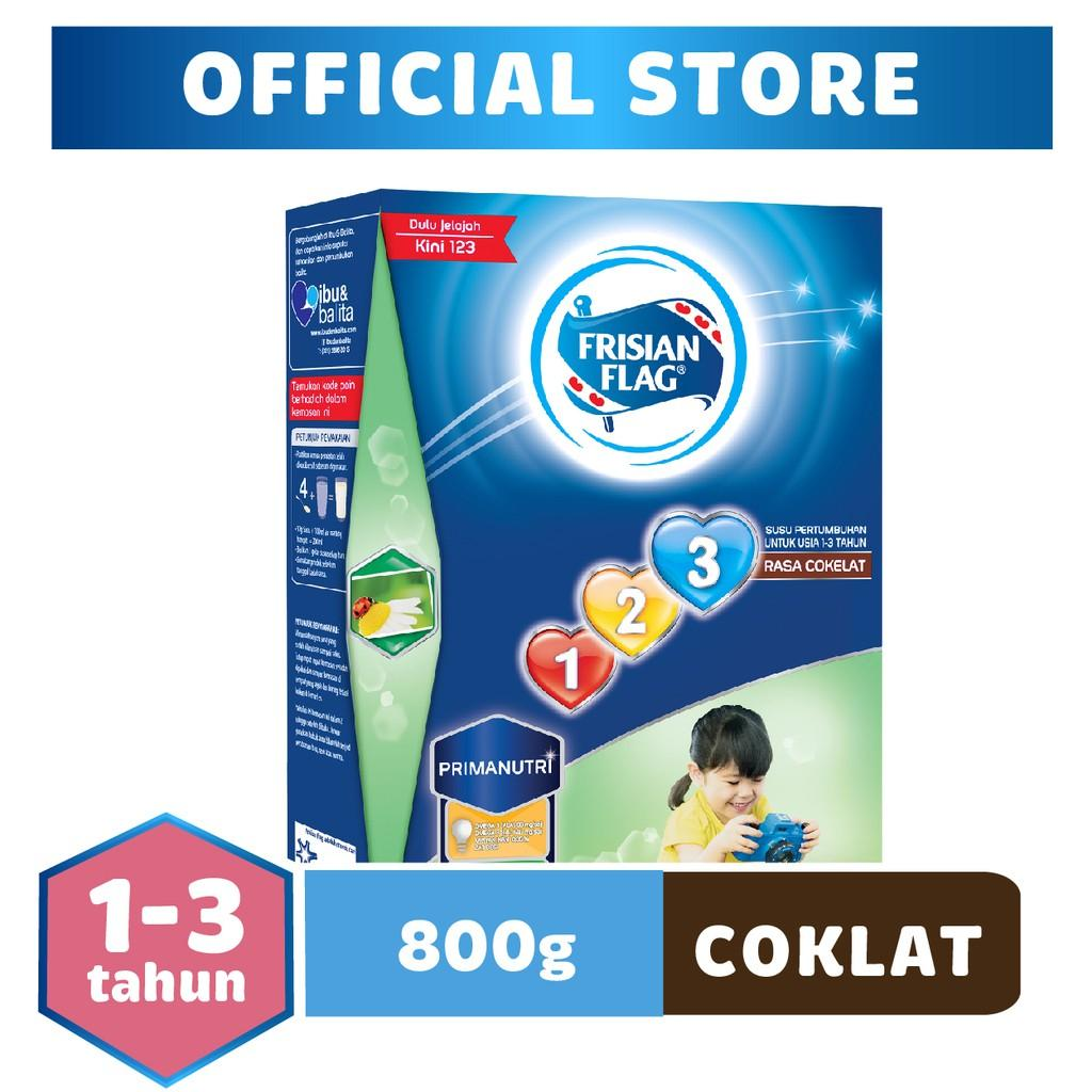 Harga-Frisian Flag 123 Cokelat 800 gr