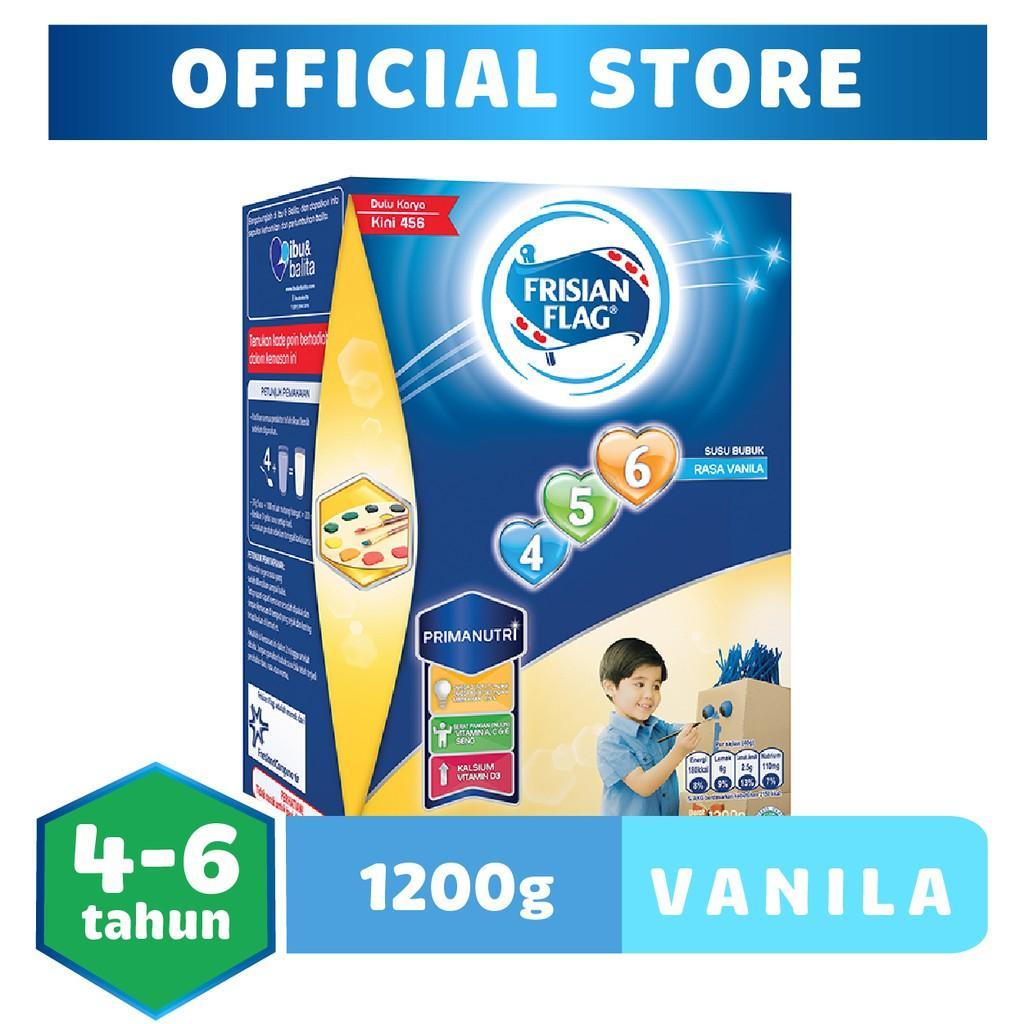 Harga-Frisian Flag 456 Vanila 1200 gr