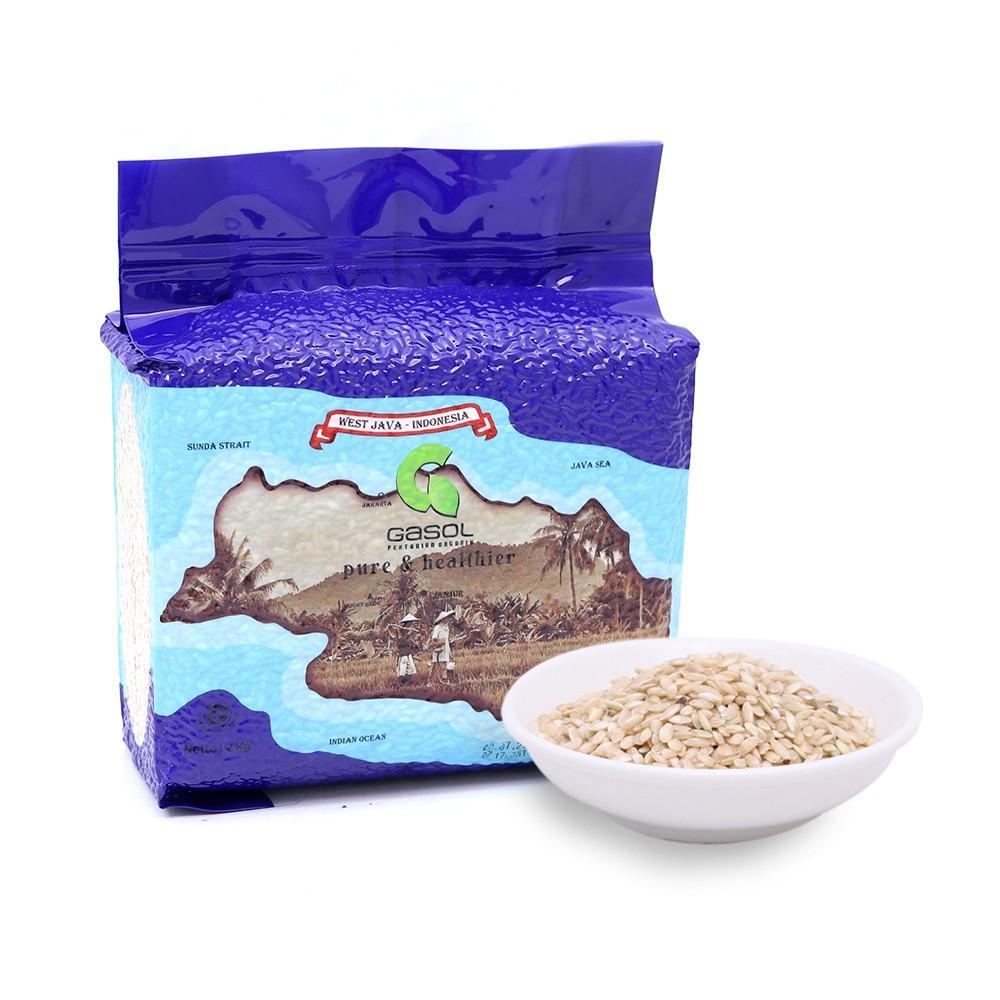 Harga-GASOL Organik Beras Coklat 2 Kg