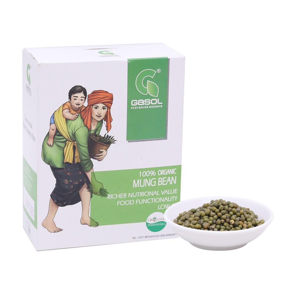 Harga-GASOL Organik Butir Kacang Hijau 300 gr