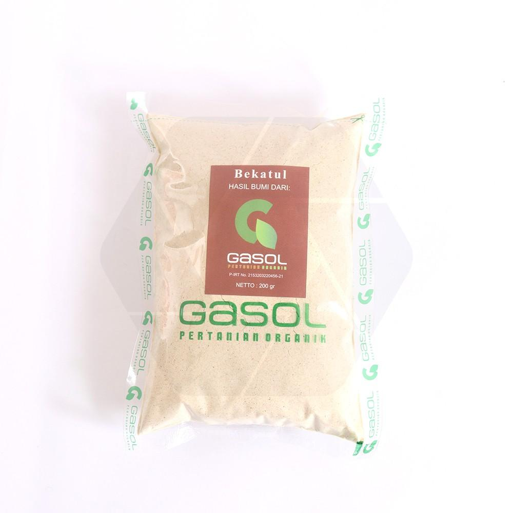 Harga-GASOL Organik Tepung Bekatul 200 gr