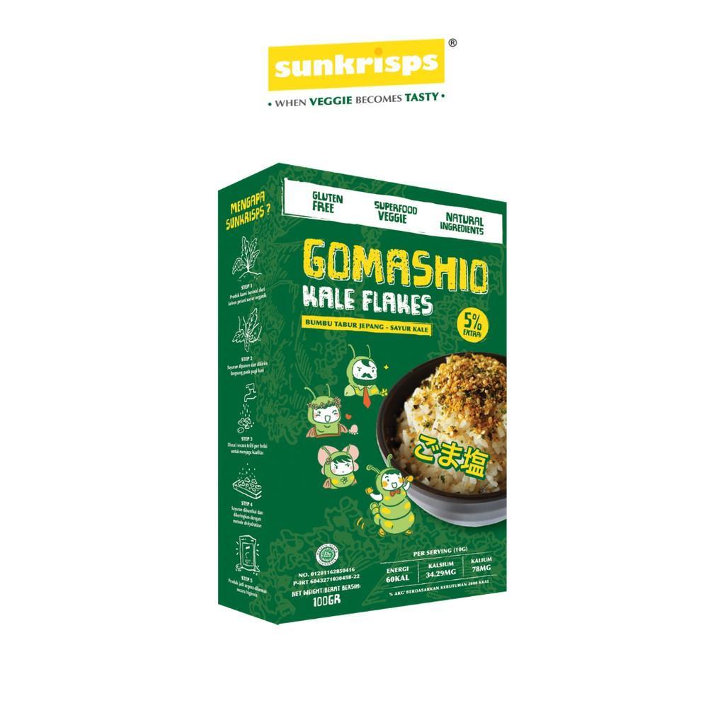 Harga-Gomashio Kale Flakes Box 100 gr