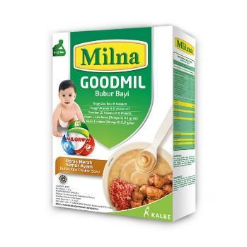 Harga-Milna Goodmil Bubur Beras Merah Semur Ayam 120 gr 8+
