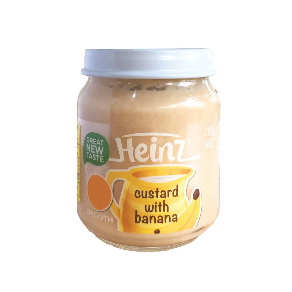 Harga-HEINZ Banana Custard 110 gr