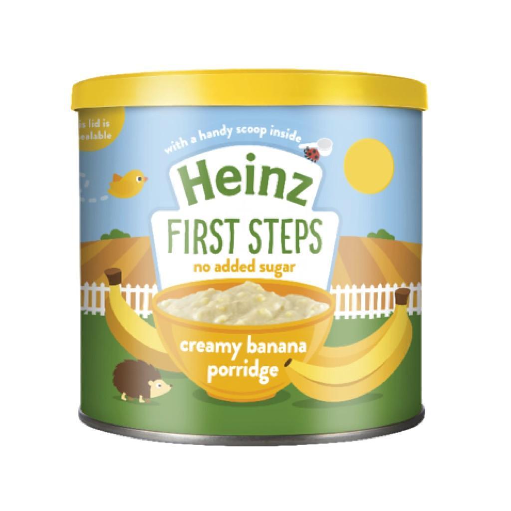 Harga-HEINZ Creamy Banana Porridge 240 gr