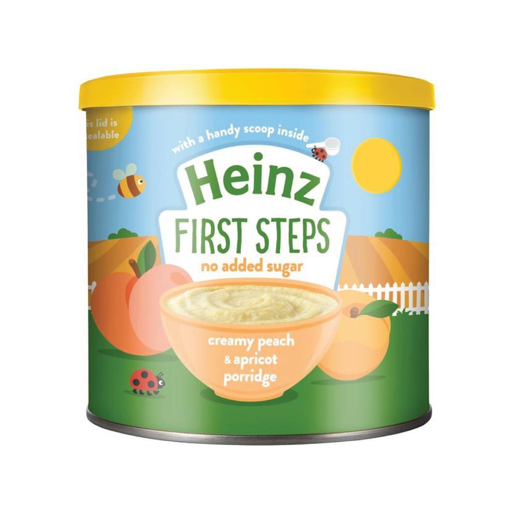 Harga-HEINZ Creamy Peach and Apricot Porridge 240 gr