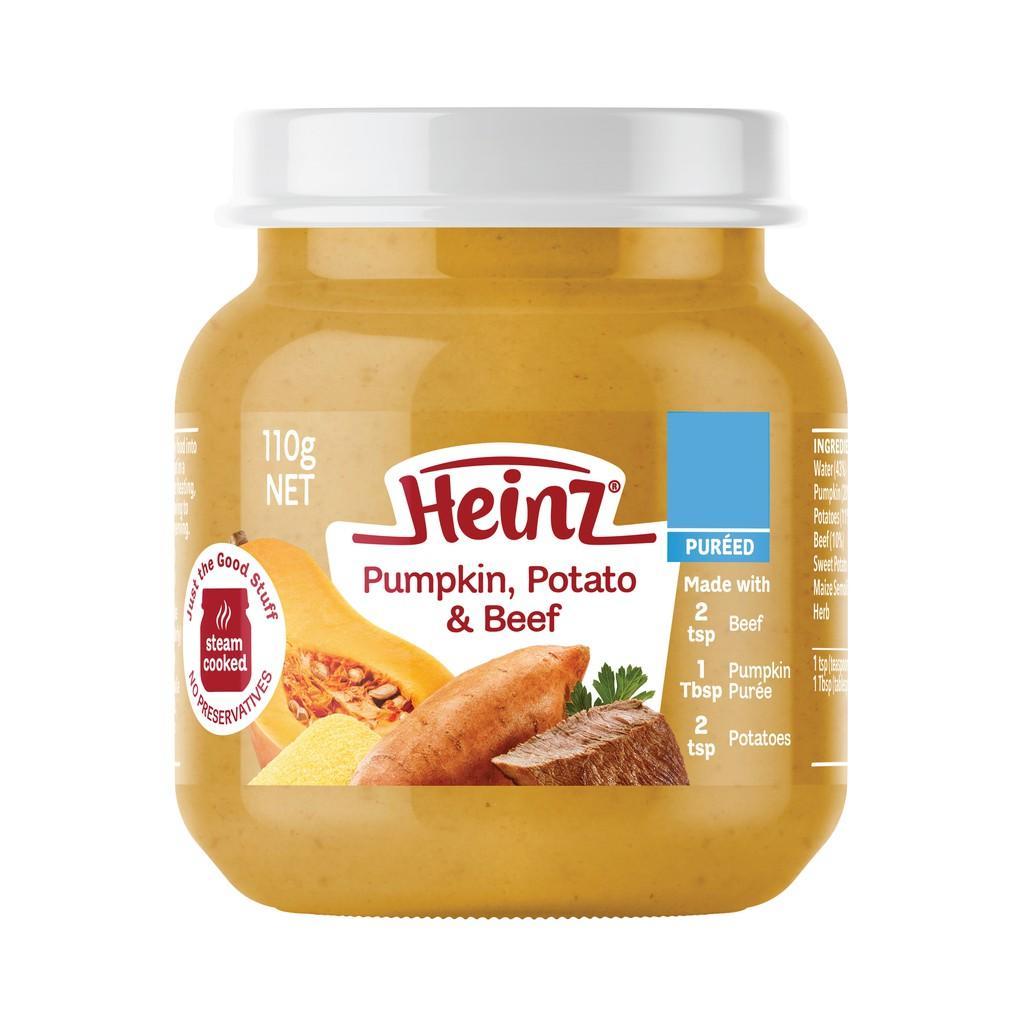 Harga-HEINZ Pumpkin Potato & Beef 110 gr
