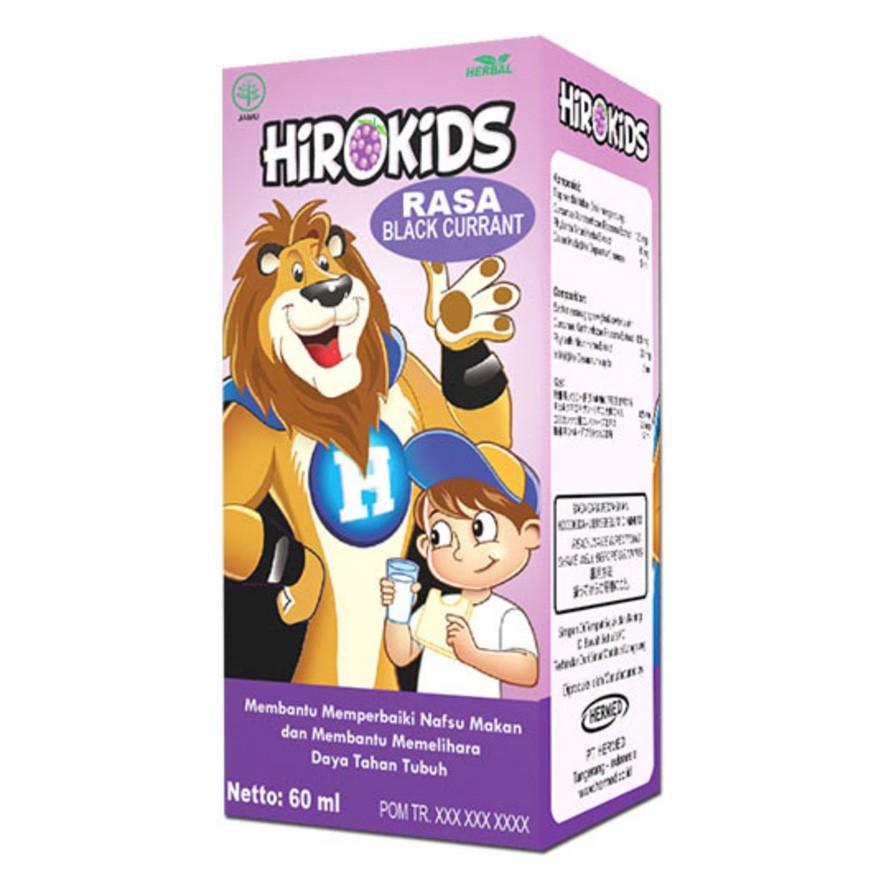 Harga-HIROKIDS Blackcurrant 60 ml