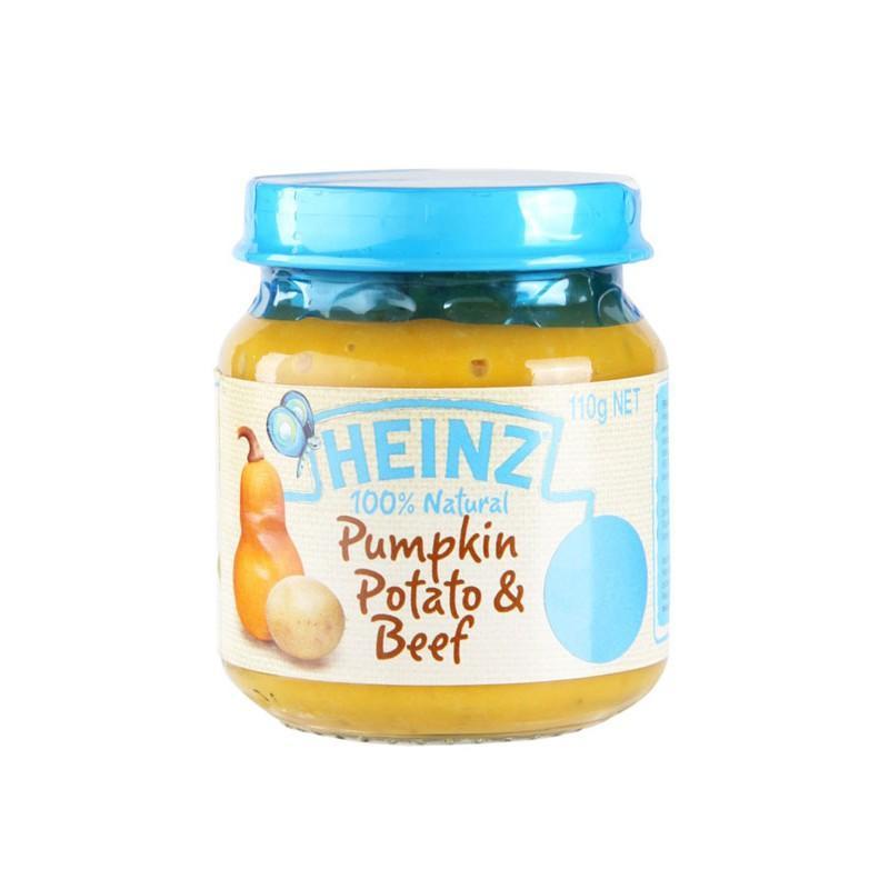 Harga-Heinz Pumpkin Potato & Beef Food Baby Snack Makanan Cemilan Anak