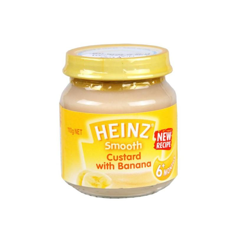Harga-Heinz Smooth Custard With Banana Food Baby Snack Makanan Cemilan Anak