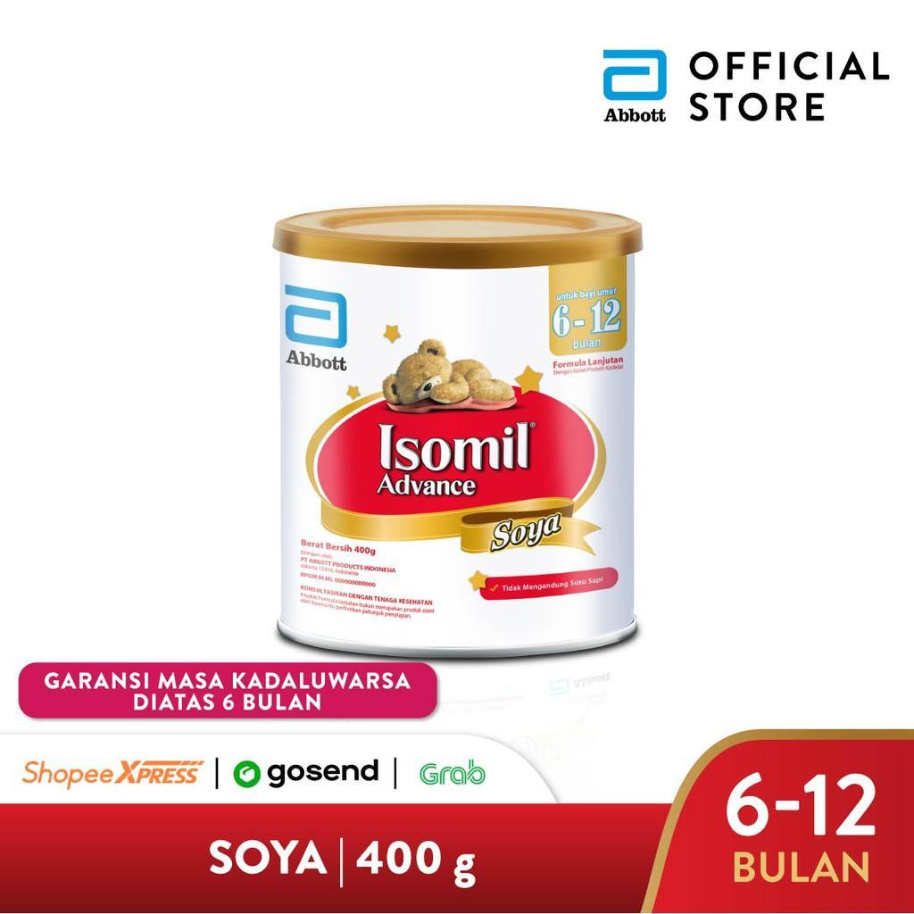 Harga-Isomil Advance Soya 400 g (6-12 bulan) Susu Formula Bayi - Infant Formula