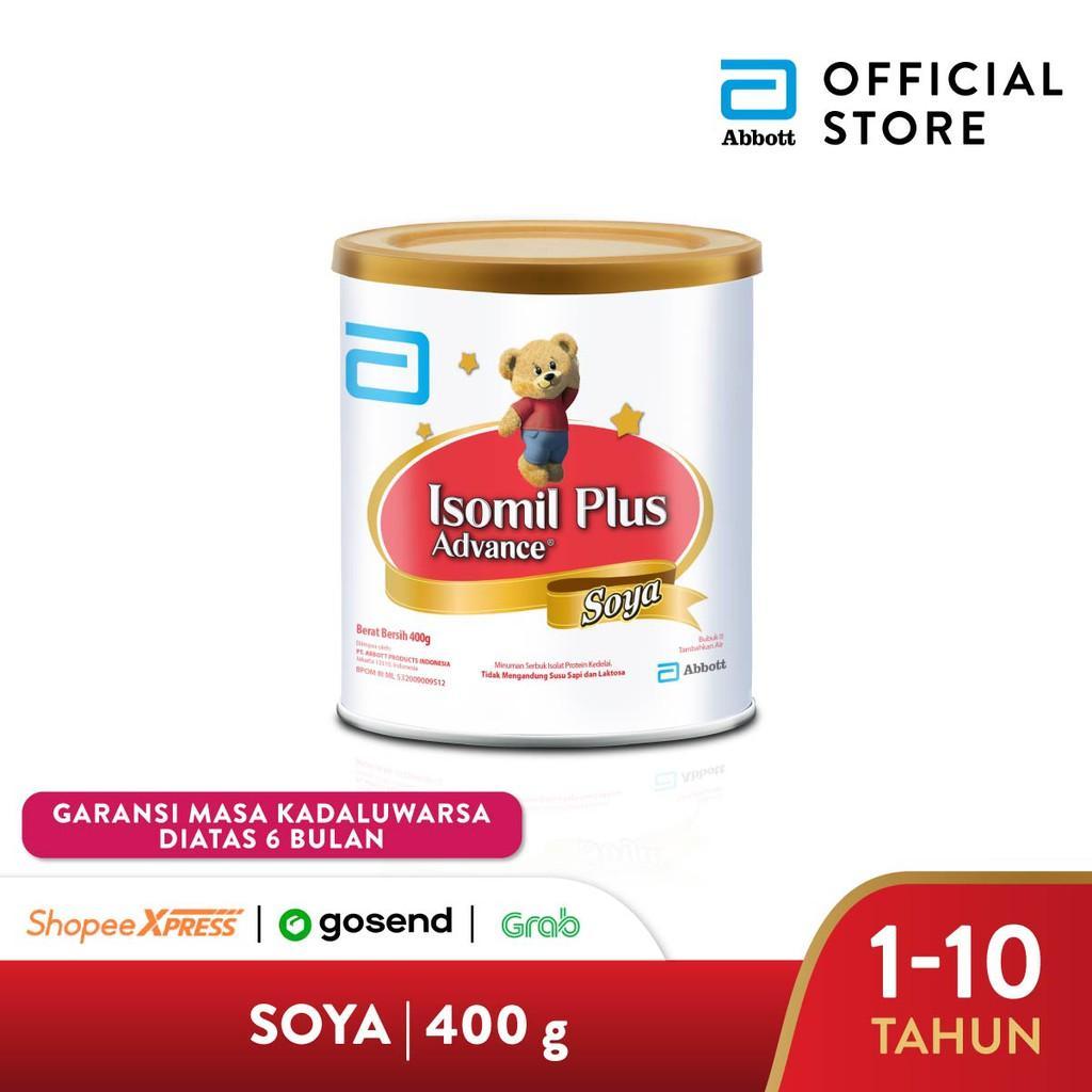 Harga-Isomil Plus Advance Soya 400 g (1-10 tahun) Susu Pertumbuhan Anak - Kids Formula