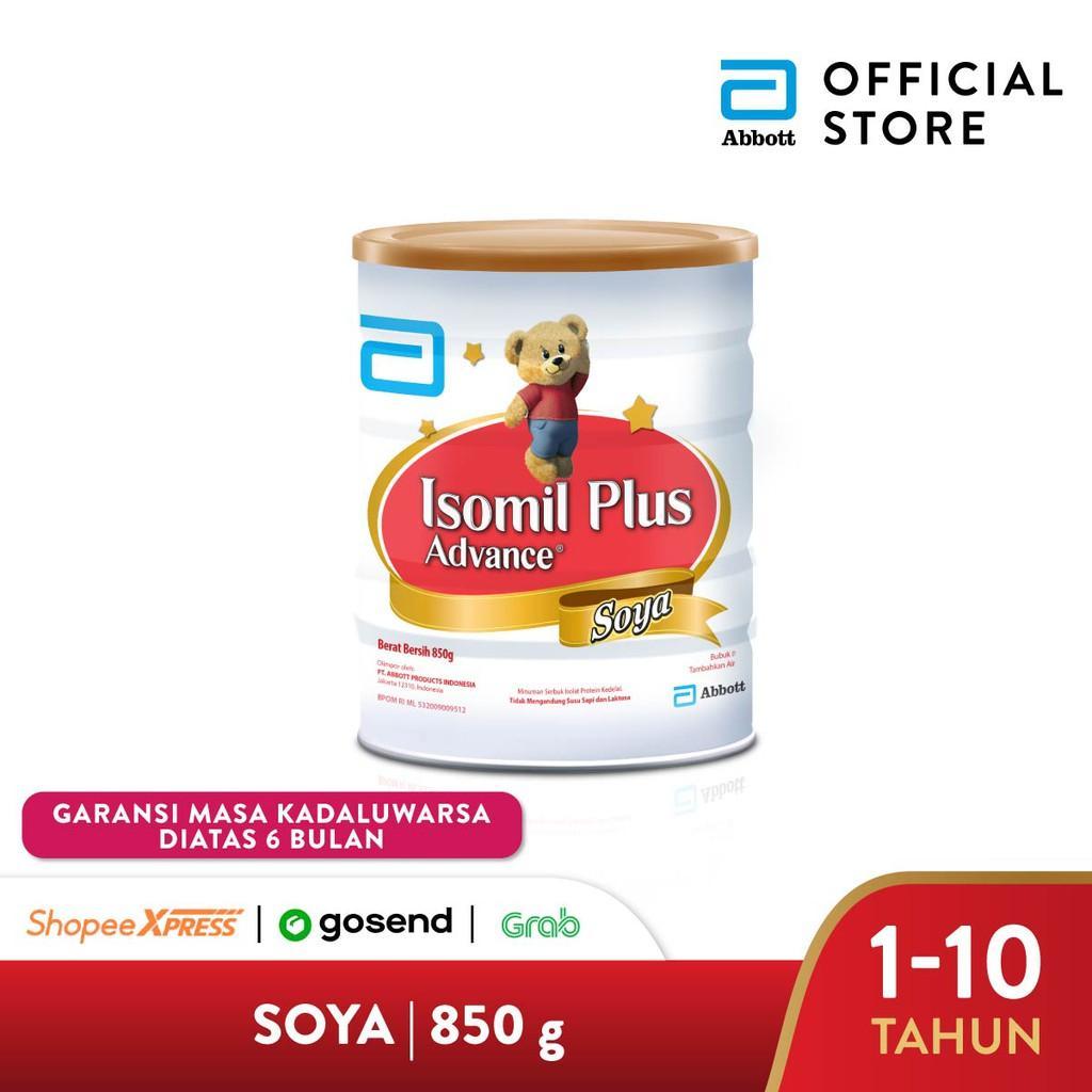 Harga-Isomil Plus Advance Soya 850 g (1-10 tahun) Susu Pertumbuhan Anak - Kids Formula
