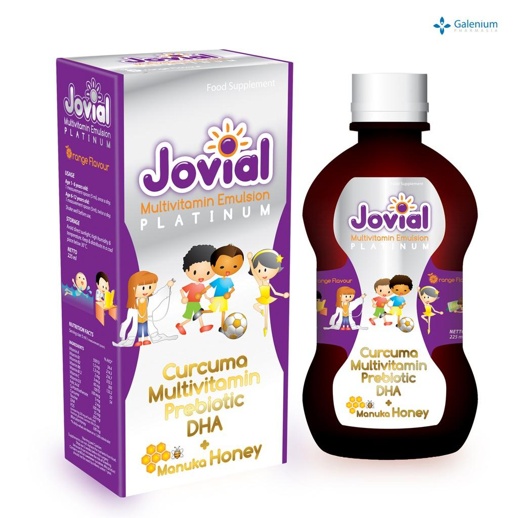 Jovial Multivitamin Emulsion Platinum