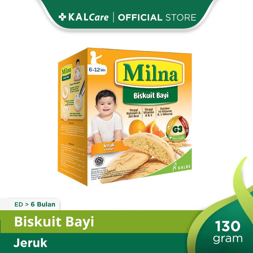 Milna Baby Biscuit Jeruk 130 G