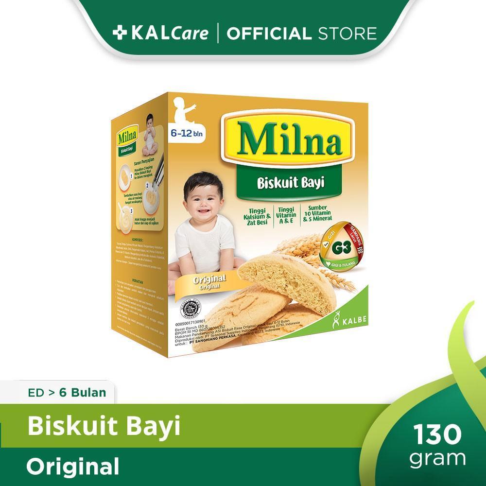 Milna Baby Biscuit Original 130 G